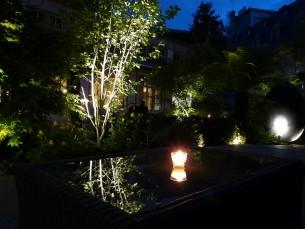 Fontaine hôtel du parc miroir d'eau