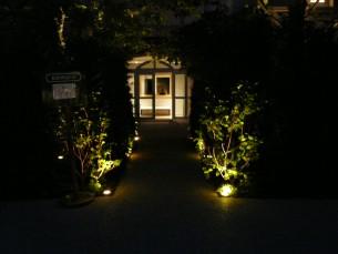 hôtel renaissance éclairage de nuit