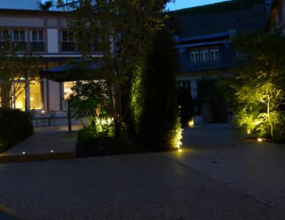 Eclairage d'ambiance hôtel du parc