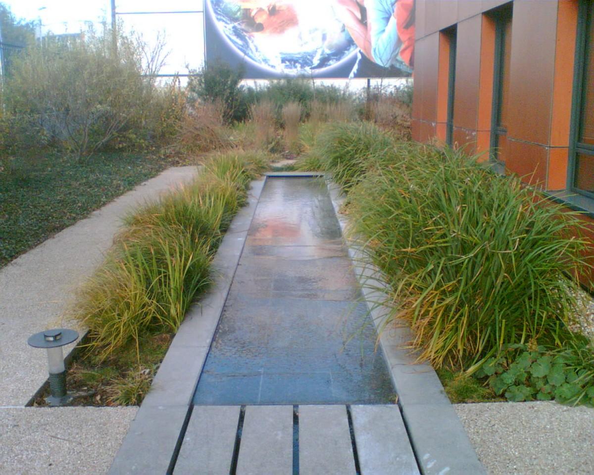 Bassin D Eau Exterieur fontainerie - n2b arrosage