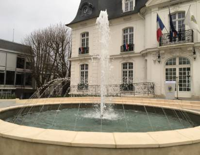 Fontaine circulaire mairie d'athis mons