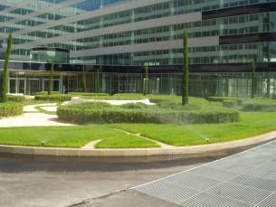 Arrosage des espaces verts