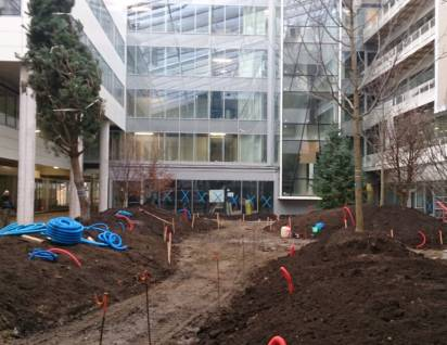 Travaux du batiment Solaris