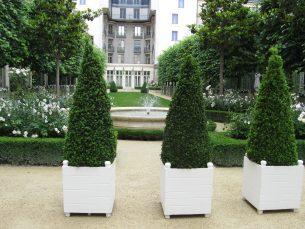 Jardins du Ritz vue de coté